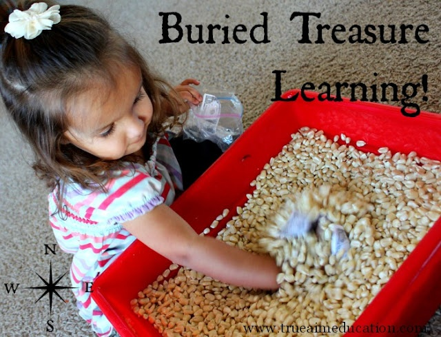 Educational Carnival Games: Buried Treasure (use when kids need to MOVE and adapt to lesson)