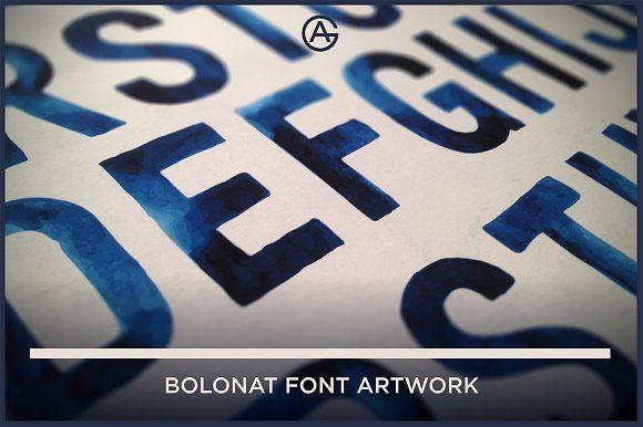 BOLONAT WASH ARTWORK by GRAFIKARTO on @creativemarket