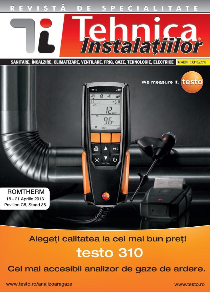 Revista Tehnica Instalatiilor nr. 03_110_2013