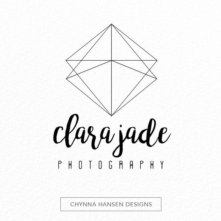 Minimalist Logo | Simple Logo | Geometric Logo | Photography Logo | Premade Logo | Modern Logo Design | Jewelry Logo | Event Planning by ChynnaHansenDesigns on Etsy https://www.etsy.com/ca/listing/263639177/minimalist-logo-simple-logo-geometric