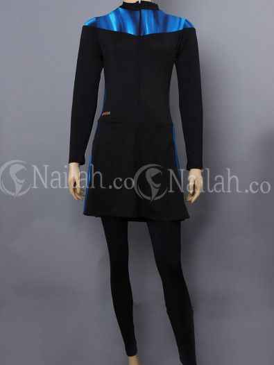 Muslim Swimming suit - lengan panjang - www.nailah.co
