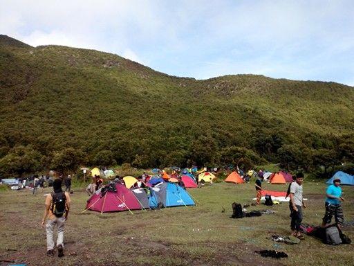 Camp at pondok saladah