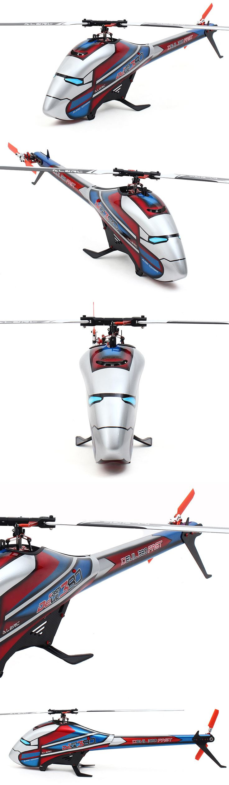 US Warehouse | ALZRC Devil 380 FAST RC Helicopter Kit