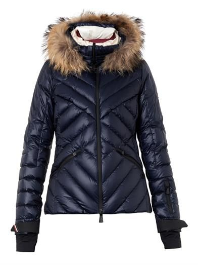 Makalu fur-trimmed quilted down jacket   Moncler Grenoble   MA...