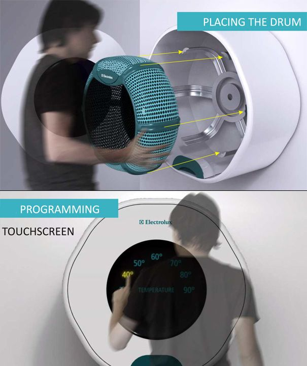 83 best wher o images on pinterest washing machines oasis the drum washing machine by andras suto read more at http fandeluxe Image collections