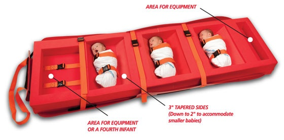 Med Sled Infant Insert  Contact Evacuation Chairs Australia: http://www.evacuationchairs.com.au/ Bus: +61 3 9001 5806 | 1300 669 730