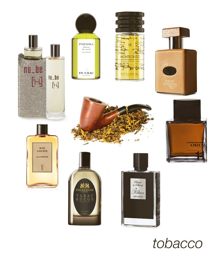 Some smoky, some gourmand, some herbal - all kinds of tobacco notes here: Pohadka, Montecristo, Cuir Tabac, 11 Semma, Back to Black, Tabac Rouge, Bois D'Ascese, and Helium. #niche #perfume #luckyscent