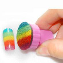 1 компл. ногтей штамповки плиты губка штампов плиты штамповка польский шаблона передача DIY дизайн ногтей комплект украшения(China (Mainland))