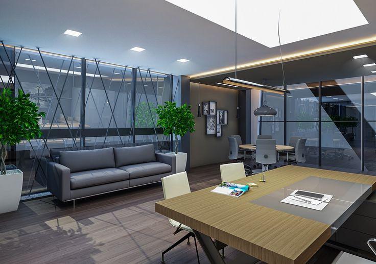 Şahin Hukuk Merkezi - Folkart Towers   İç mimari tasarım.