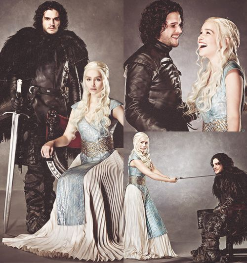 """""""I think it's one of those things like they either kill each other or have sex…maybe both!"""" -Kit Harington"""