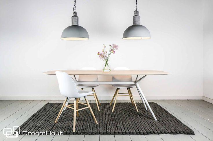#Industriële #hanglamp | #frezoli #lozz | #industrial #interior | In black & grey