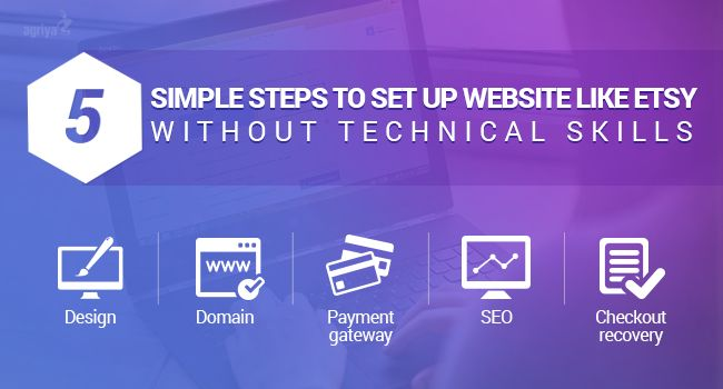 5 simple steps to set up website like #Etsy without technical skills  Check out: http://www.clonescripts.co/2015/11/5-simple-steps-to-set-up-website-like-etsy-without-technical-Skills.html
