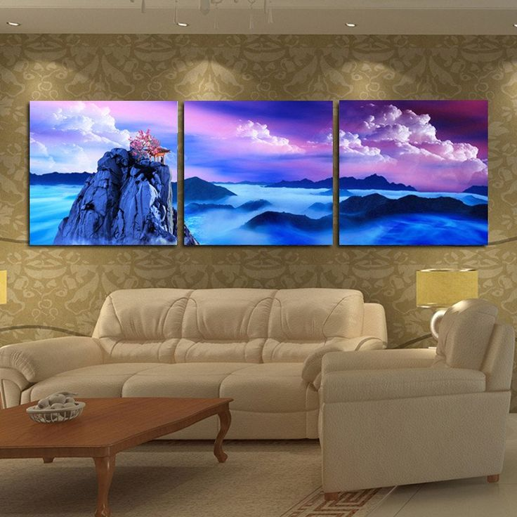 Fantasy Cloud Wall Picture For Living Room Canvas Prints With Different Sizes At Competitive Price