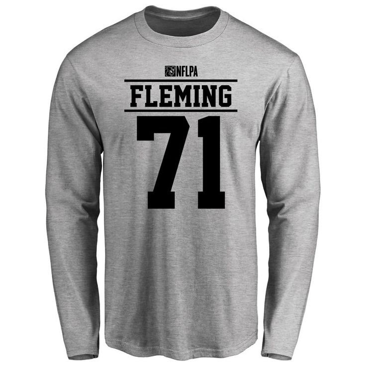 Cameron Fleming Player Issued Long Sleeve T-Shirt - Ash