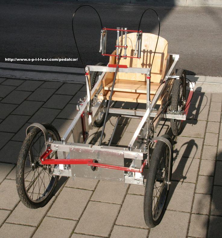 23 best Quadricycle Plans Pedal Cars images on Pinterest ...