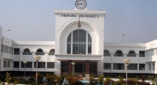 Recruitment of Semi Professional Assistant in Tripura University, November, 2014