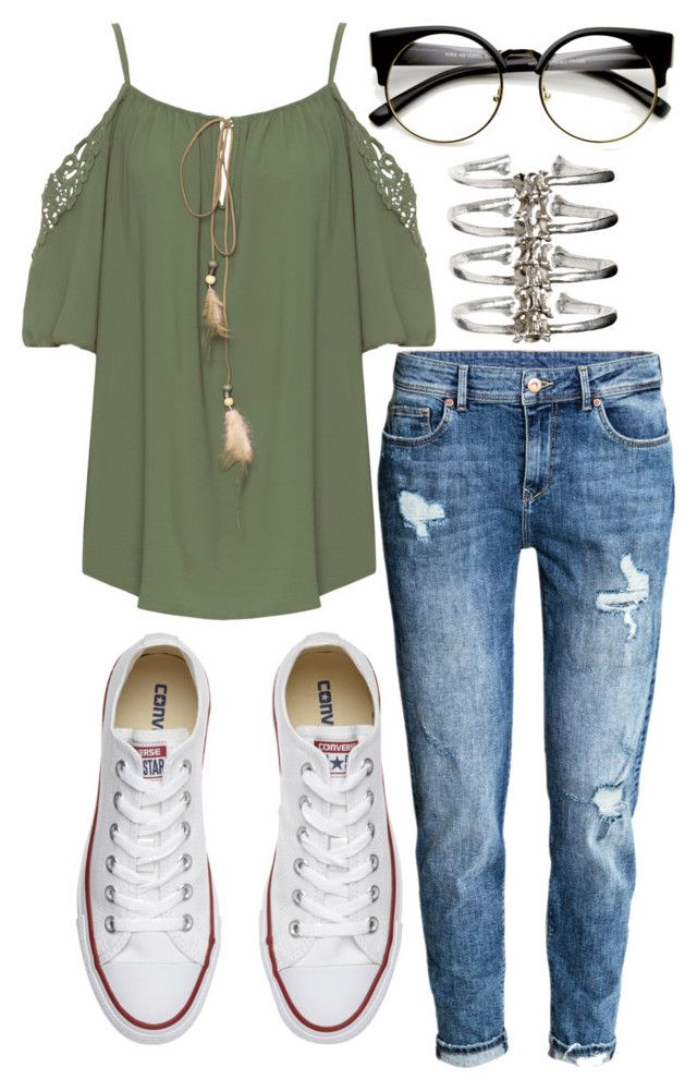 """""""Untitled #1495"""" by milesofsmiles12345 ❤ liked on Polyvore featuring WearAll, Converse and Ayaka Nishi"""