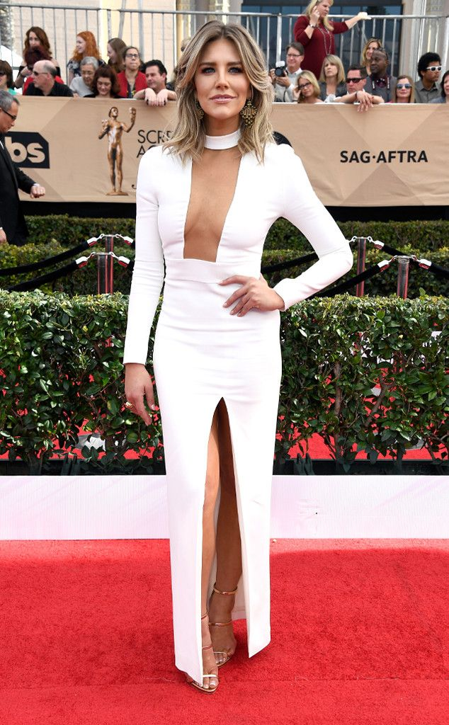 Charissa Thompson from 2017 SAG Awards: Red Carpet Arrivals