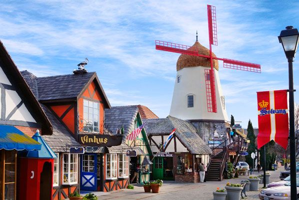 Solvang, CA - Part of camping at Cachuma Lake was a visit to Solvang. I loved going there but I always wanted the wooden shoes they sell.