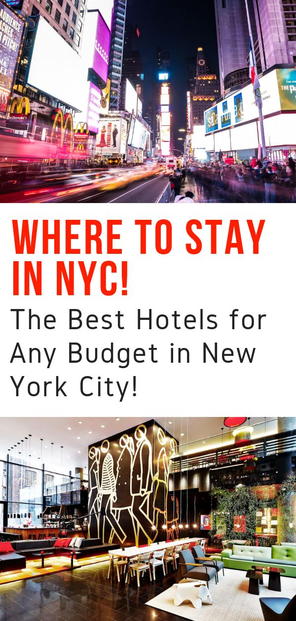 Where to Stay in NYC – The Best Hotels in New York City