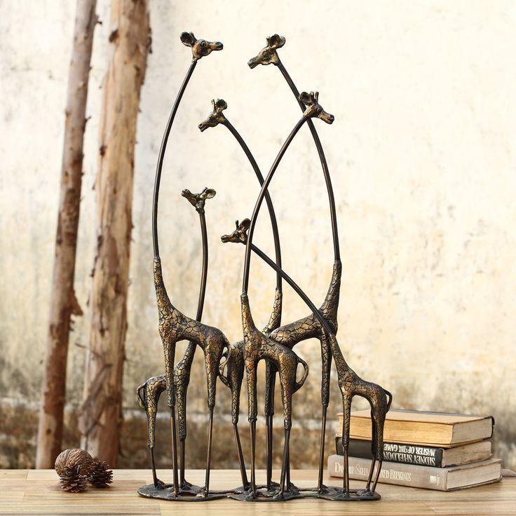 giraffe furniture. SPI Home Decorative Towering Giraffe Herd Statue Furniture