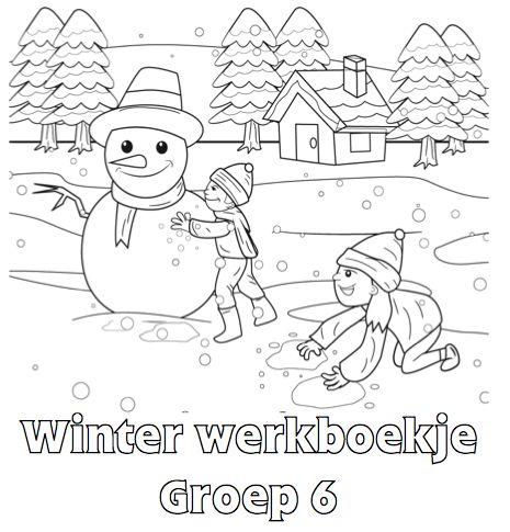 Winter Werkboekje Groep 6