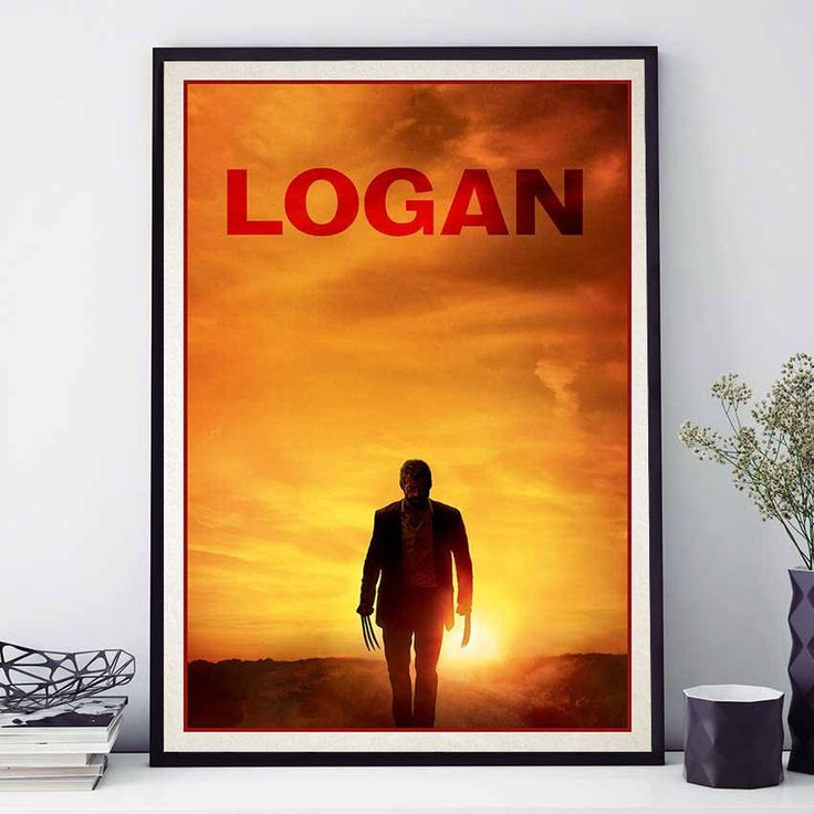 Logan Wolverine Movie Poster, Marvel Print, X Men Painting, Marvel Comics Wall Art, Logan Wolverine Decor, Kids Room Poster (N4073) by PointDot on Etsy