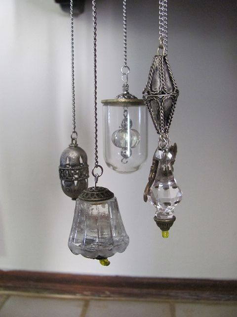 Mini chandeliers - fairy gardens (image only) | Source: Jocelyn @ Flickr
