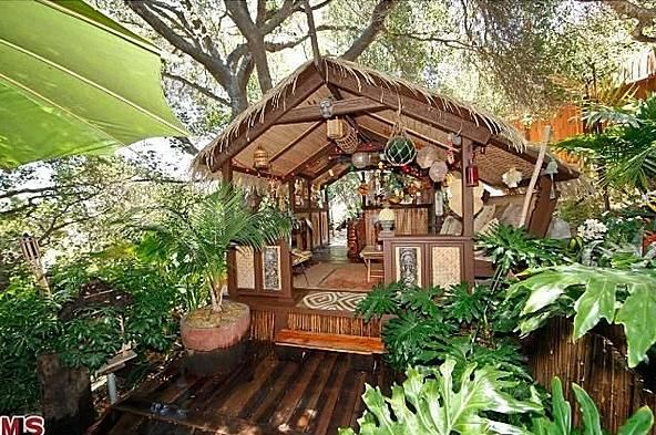 L.A. (Studio City) Home with Tiki Hut/Bar for Sale! -- Tiki Central