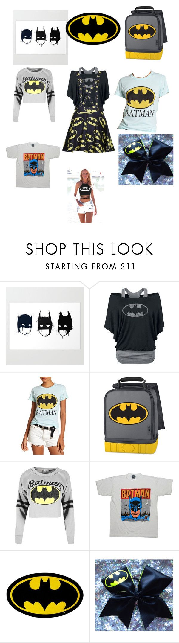 """batmen clothing"" by skeeter9299 on Polyvore featuring Dolma, Junk Food Clothing and Thermos"