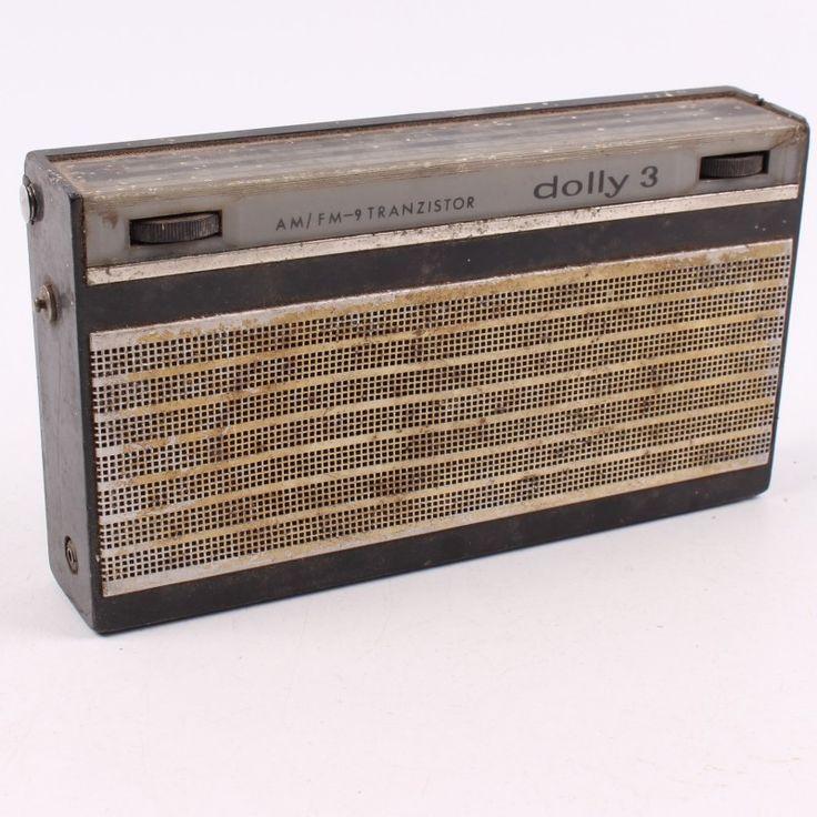 Radiopřijímač Dolly 3 teleskopická anténa