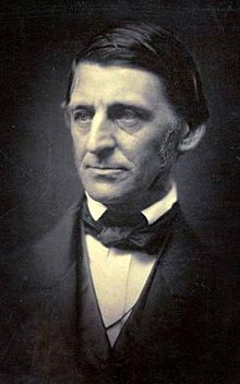 Ralph Waldo Emerson (May 25, 1803– April 27, 1882) was an American essayist, lecturer, and poet, who led the Transcendentalist movement of the mid-19th century. He was seen as a champion of individualism and a prescient critic of the countervailing pressures of society, and he disseminated his thoughts through dozens of published essays and more than 1,500 public lectures across the United States.