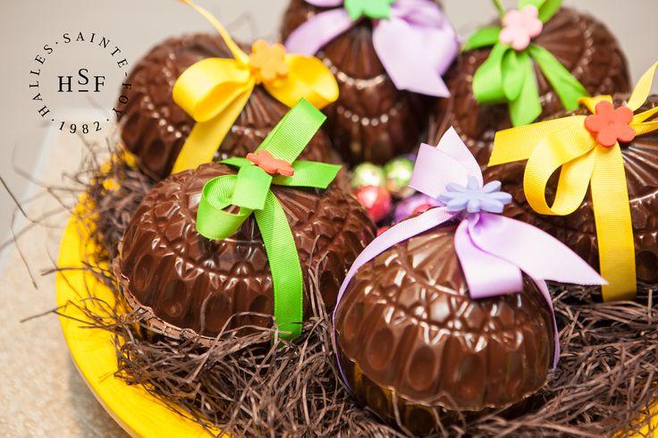 Des oeufs en chocolat auxquels personne ne peut résister!