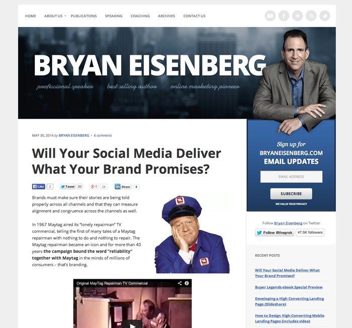 Visit @ http://www.bryaneisenberg.com/