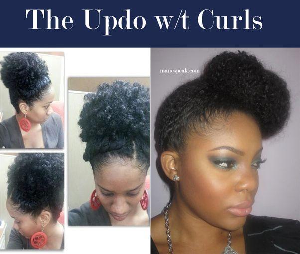 natural hair - easy hairstyles