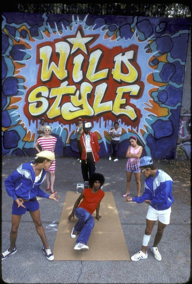 Wild Style... Thee Classic Hip Hop Film.