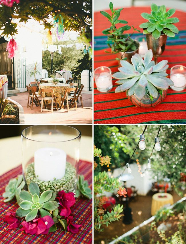 a backyard fiesta wedding celebration rebecca thomas