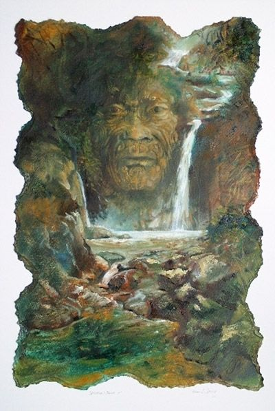 Brian C Strong NZ - Maori-Face