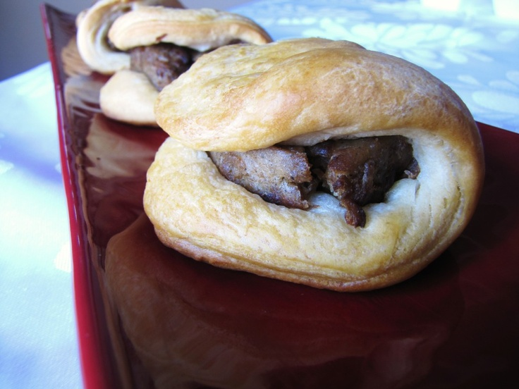 Pigs in a blanket with Sol Cuisine