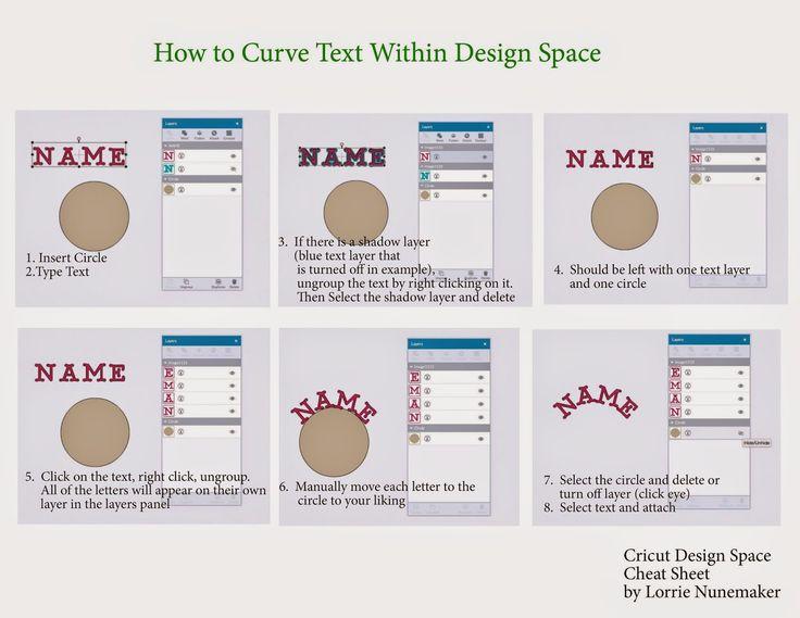 How to curve text in cricut design space cricut explore