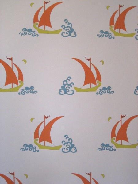Katie Ridder- favorite wallpaper: Beetlecat Wallpapers, Kids Bathroom, Half Bath, Cat Rooms, Ridder Beetlecat, Bathroom Ideas, Cottages Bathroom, Bathroom Wallpapers, Kids Rooms