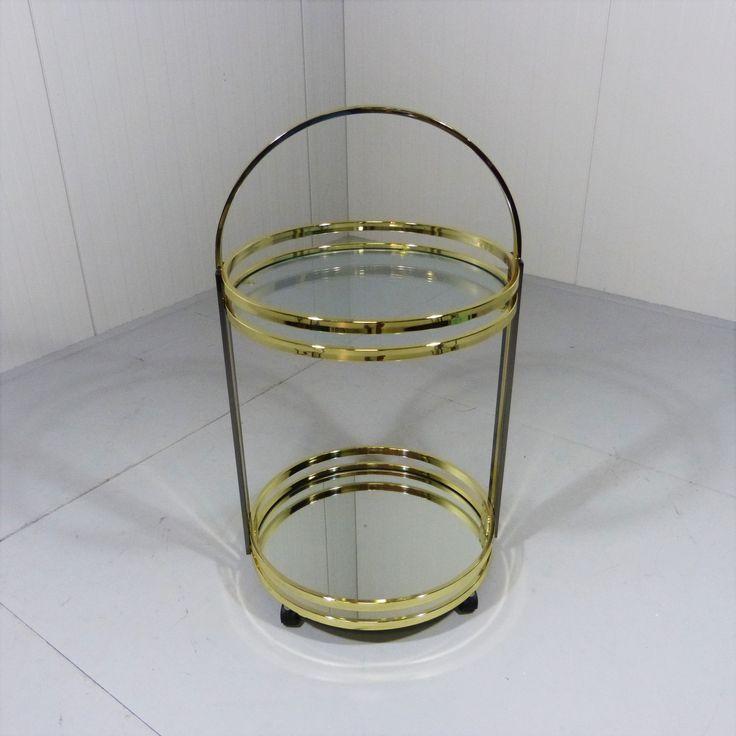 Brass Drinks Trolley