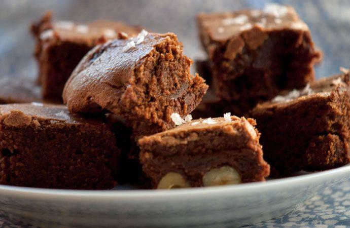 Chokolade Brownies med hasselnødder