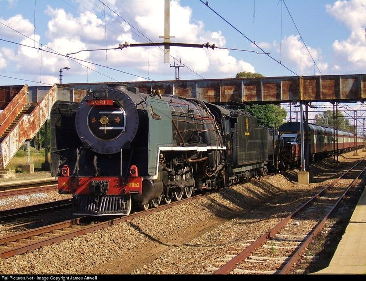 RailPictures.Net Photo: 3052 Reefsteamers Association Class 15F at Kroonstad, South Africa by James Attwell