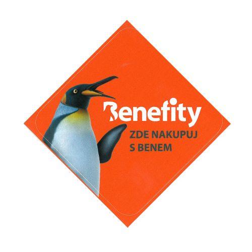 Nyní můžete taky u nás uplatnit body Benefity :)