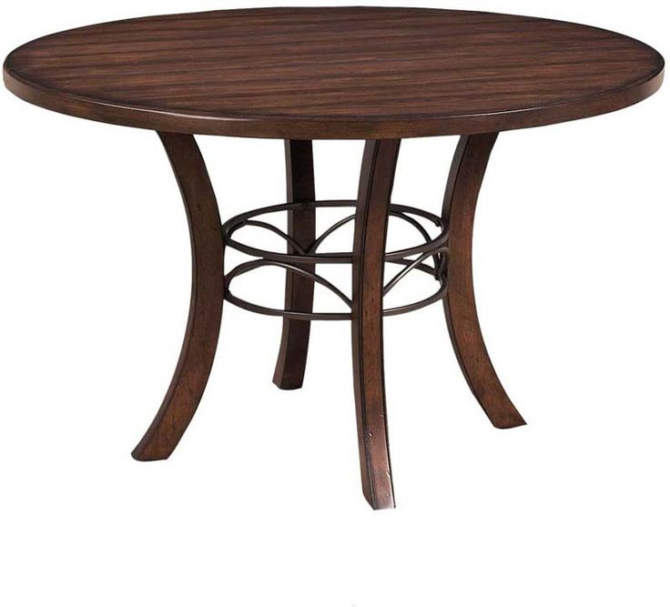 Hillsdale 4671DTBW Cameron Round Wood Dining Table w Metal Ring. Best 25  Round wood dining table ideas on Pinterest   Round dining