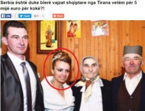 Οι Σέρβοι αγοράζουν Αλβανίδες νύφες με 5.500