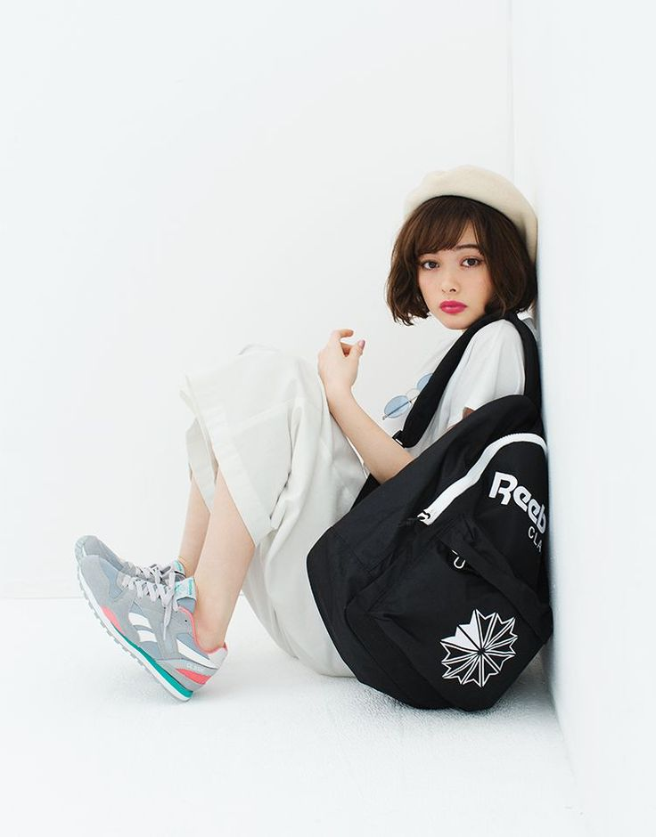 Hello, A New Me! 玉城ティナの最新スタイルサンプル | SPECIAL | Reebok CLASSIC -リーボック クラシック-