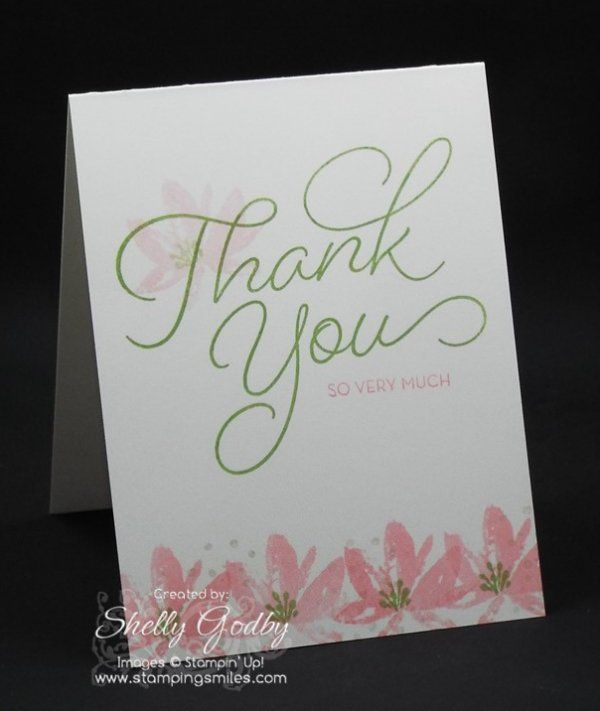 Stampin' Up! Avant-Garden and So Very Much Stamp Sets