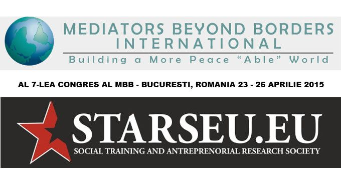 Congresul al 7-lea al Mediators Beyond Borders – Bucuresti, Romania, 23-26 Aprilie 2015